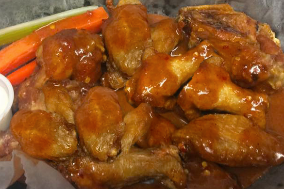 Pike Cafe wings